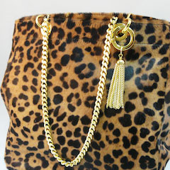 Patchilly Leopard Style Bag by Laurence Dacade